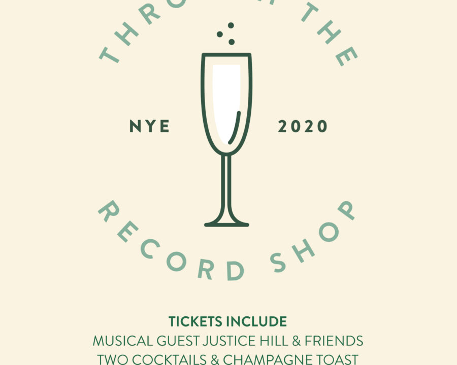 NYE '20 featuring Justice Hill & Friends Live + Champagne Ruppert-Leroy